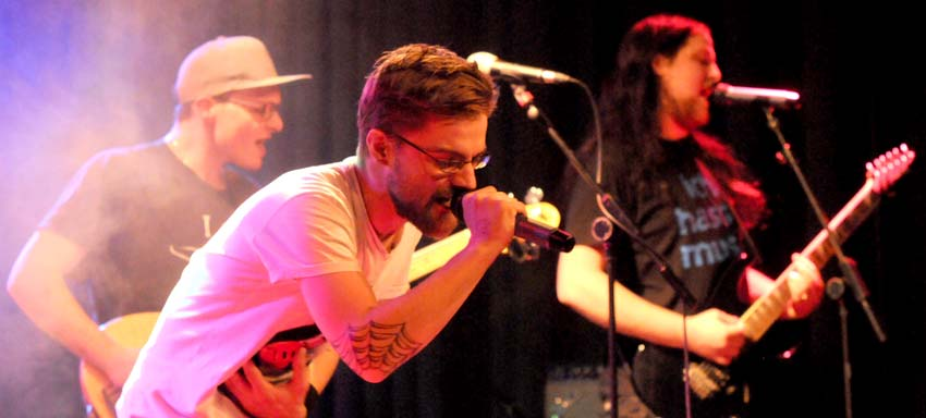 Vier Bands live in Otterndorf