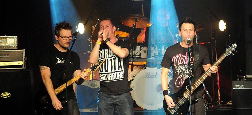 Vier Metalbands im Haus der Jugend