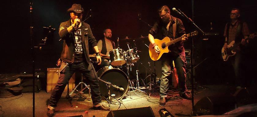 Rockabend mit Bourbon Preachers