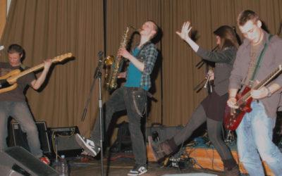 Bandworkshop in der Jahnhalle